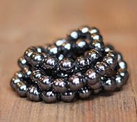 Haskell 10mm Black Baroque Pearls