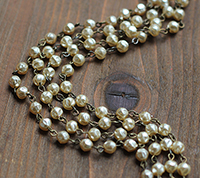 6mm Baroque Pearl Chain