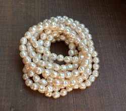 Vintage 6mm Haskell Baroque Pearls in Cream