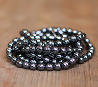 Haskell 8mm Black Baroque Pearls