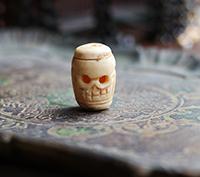 Bone Skull Bead