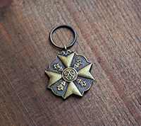[BR] Antique French Pendant