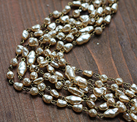 Baroque Pearl Sequence Chain