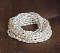 Haskell Baroque Rice Pearls