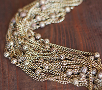 Vintage Filigree Bead and Cable