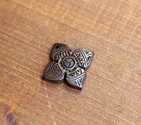 Carved Wood Dorje