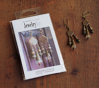 Casablanca Earring Kit - Champagne