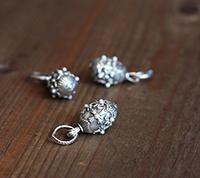 Faberge Pendant - Pearl
