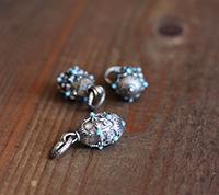 Faberge Pendant - Aqua