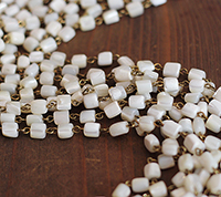 French Mother of Pearl Chain