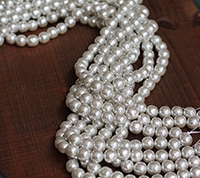 Haskell Silver Baroque Pearl Master Strand