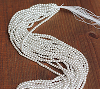 Haskell 4mm Silver Pearl Master Strand