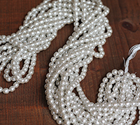 Haskell 6mm Silver Pearl Master Strand