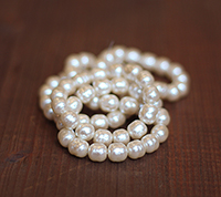 10mm Haskell Creme Baroque Pearl