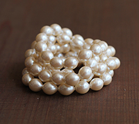 Haskell Medium Oval Pearl