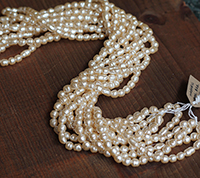 Haskell Baroque Pearl Mix Master Strand, Small