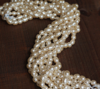 Haskell Baroque Pearl Mix Master Strand, Medium