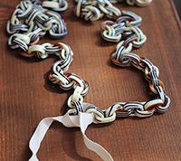 Vintage Italian Lucite Chain