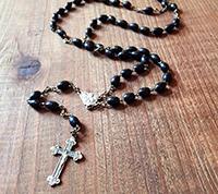 Italian Wood Rosary