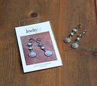 Lotus Drop Earring Kit