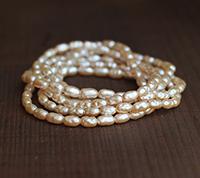 Haskell Vintage Biwa Pearls