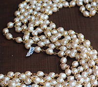 Haskell Old Stock Pearl Chain