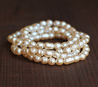 Haskell Vintage Small Baroque Pearl Mix
