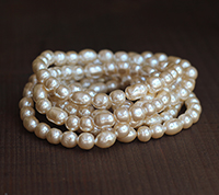 Haskell Vintage Medium Baroque Pearl Mix