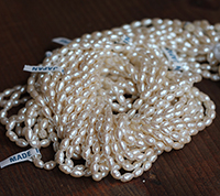Haskell Baroque Rice Pearls Master Strand