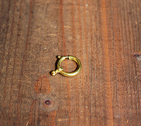 Oversized Spring Ring, Brass