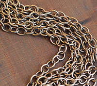 Oversized Brass Cable
