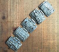 Sterling Silver Paris Souvenir Bracelet