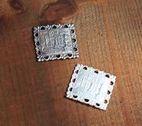 [S] Italian Bracelet Plaque - Firenze