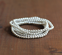 Haskell 4mm Silver Baroque