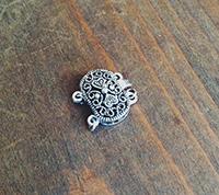 Silver Filigree Clasp