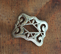 Sterling Plated Buckle