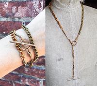 Vintage Watch Chain Wrap