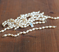 Vintage Haskell Pearl Bracelet [Small]