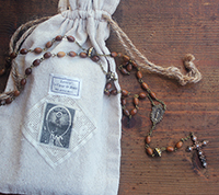 Fille de Ciel Wood Rosary Kit