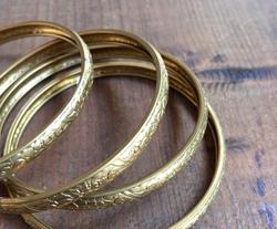 Vintage Brass Bangle 2