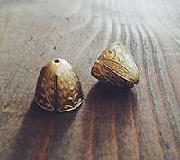 Engraved Brass Caps