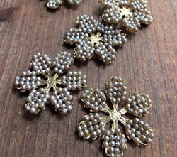 Vintage Haskell Cagework Flowers