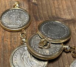 Helvetia Coin Pendant