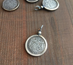 Imperial Coin Pendant