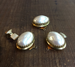 Mabe Pearl Clasp