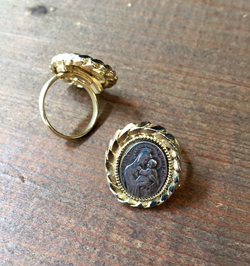 Vintage Ring  St. Anne de Beaupre